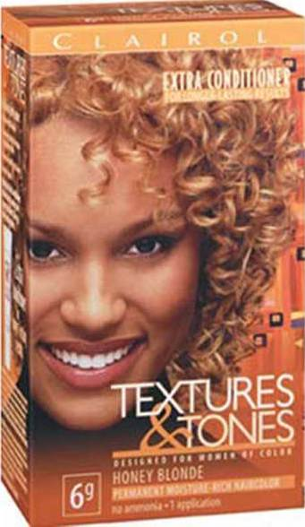 color for natural hair honey blonde